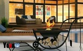 Barbecue Bowl Grill Garden Patio Heater