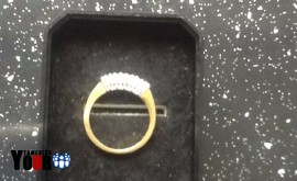 Wedding, eternity and engagement ring