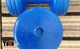 York 5 kg weights